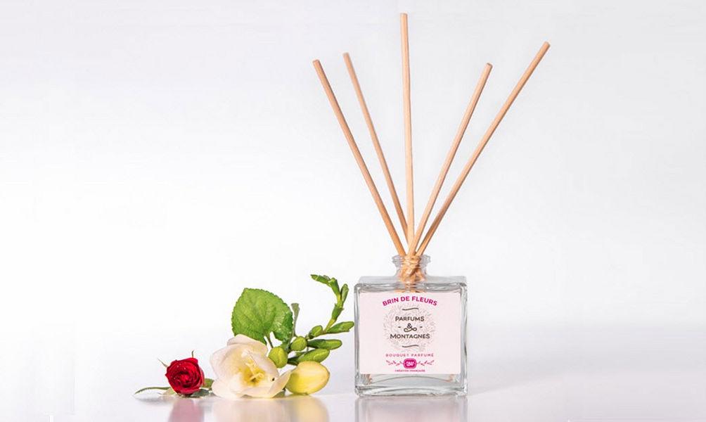 PARFUMS ET MONTAGNES Diffuseur de parfum Senteurs Fleurs et Senteurs  |