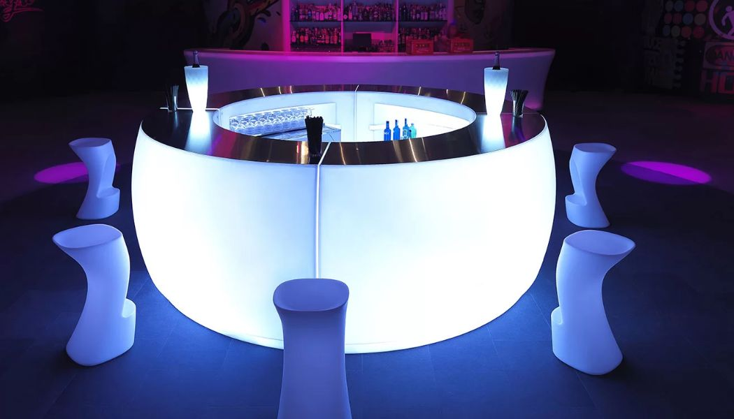 VONDOM Comptoir de bar lumineux Bars Tables & divers  |