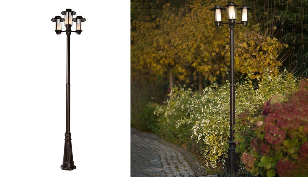LUCIDE Lampadaire de jardin Réverbères lampadaires Luminaires Extérieur  |