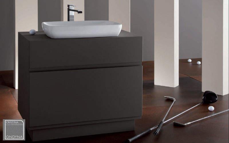Cristina Meuble sous-vasque Meubles de salle de bains Bain Sanitaires Salle de bains | Design Contemporain