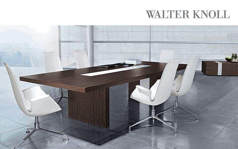 WALTER KNOLL Table de conférence Bureaux et Tables Bureau Bureau | Design Contemporain