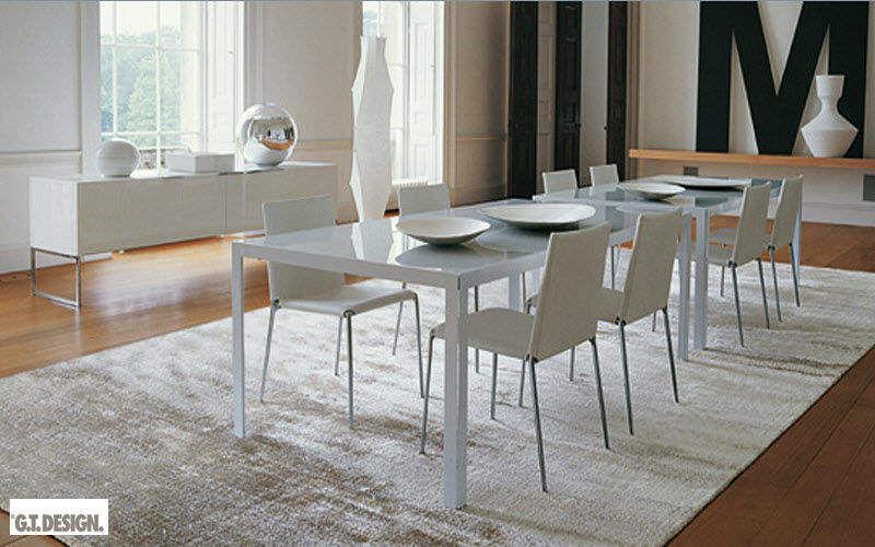 Gt Design Table de repas rectangulaire Tables de repas Tables & divers Salle à manger   Contemporain