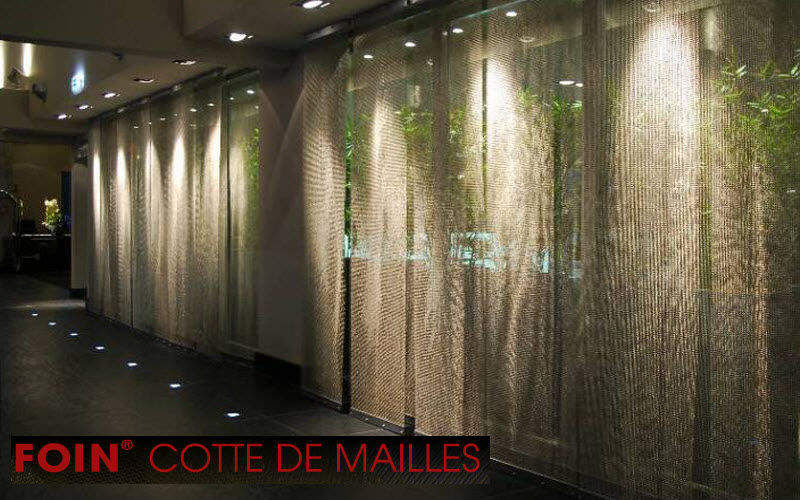 FOIN COTTE DE MAILLES Panneau coulissant Cloisons & Panneaux acoustiques Murs & Plafonds Lieu de travail | Contract