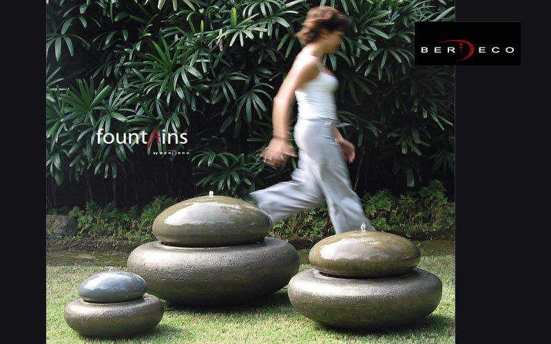 BERDECO Fontaine centrale d'extérieur Fontaines Jardin Bacs Pots Terrasse | Design Contemporain