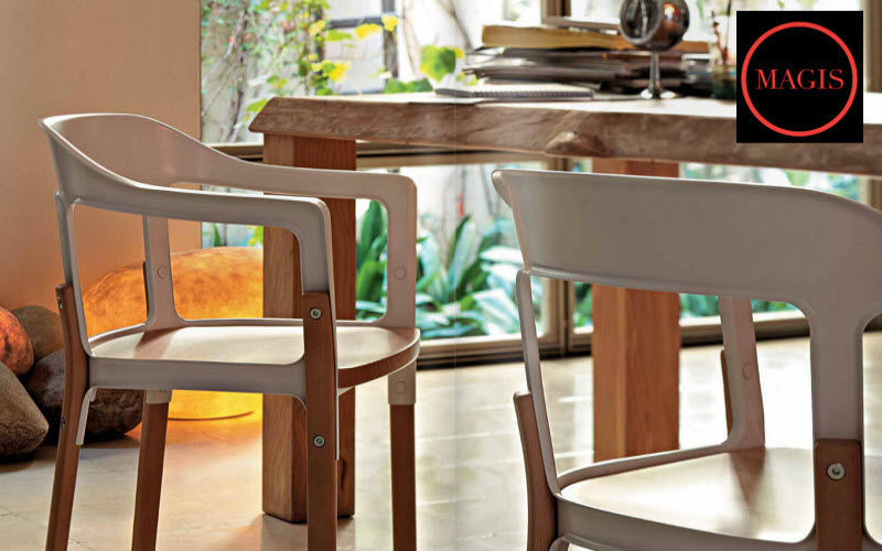 Magis Fauteuil bridge Fauteuils Sièges & Canapés Salle à manger | Design Contemporain