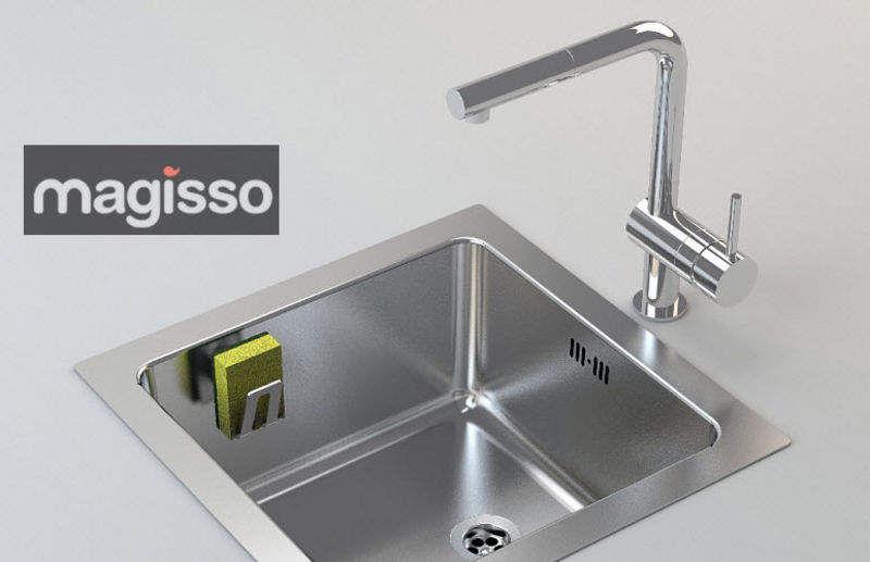 MAGISSO Porte-éponge Rangements Cuisine Accessoires  |