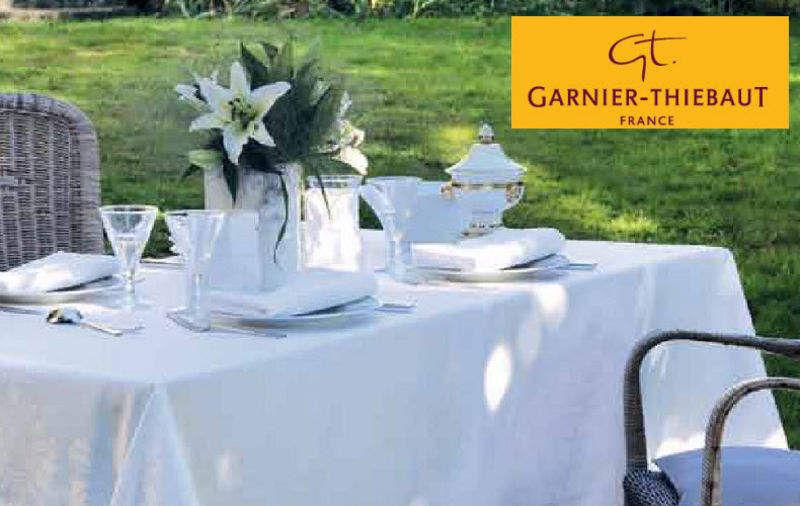 Garnier Thiebaut Nappe rectangulaire Nappes Linge de Table  |