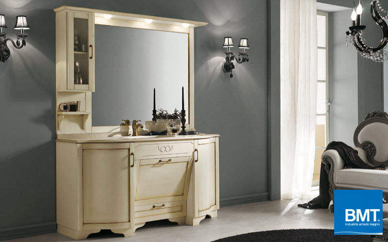 Meuble vasque meubles de salle de bains decofinder - Meuble salle de bain classique ...