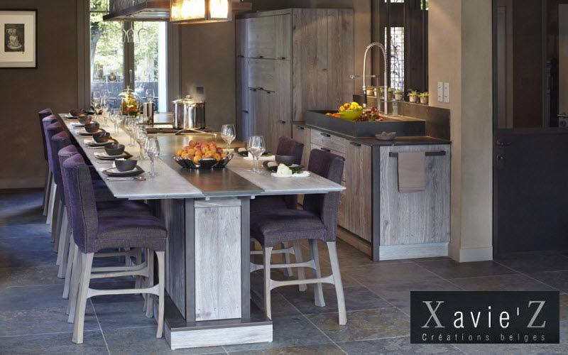 Xavie'z Table de cuisine Meubles de cuisine Cuisine Equipement Cuisine | Charme