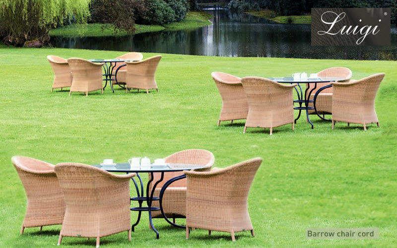 LUIGI Salon de jardin Salons complets Jardin Mobilier Jardin-Piscine | Charme