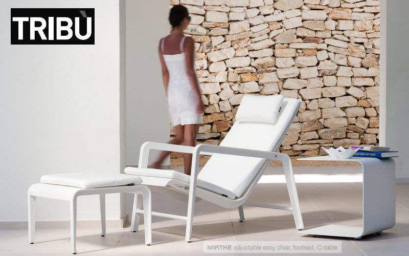 Tribu Chaise longue de jardin Chaises longues Jardin Mobilier   