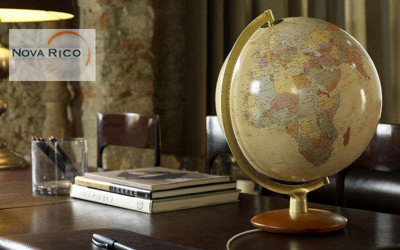 Nova Rico Globe terrestre Objets de marine Objets décoratifs Bureau | Ailleurs
