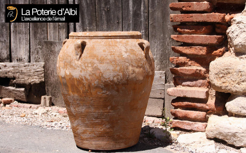Les Poteries D'albi Jarre Pots de jardin Jardin Bacs Pots Terrasse | Charme