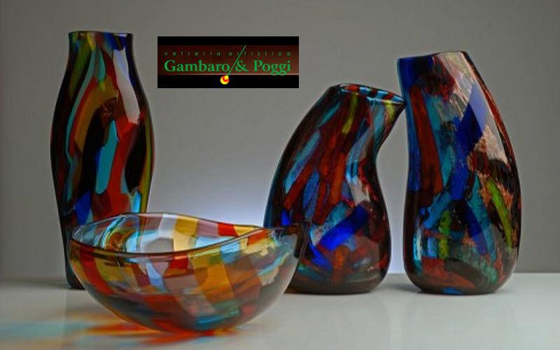 Gambaro & Poggi Murano Glass Vase à fleurs Vases Fleurs et Senteurs  |