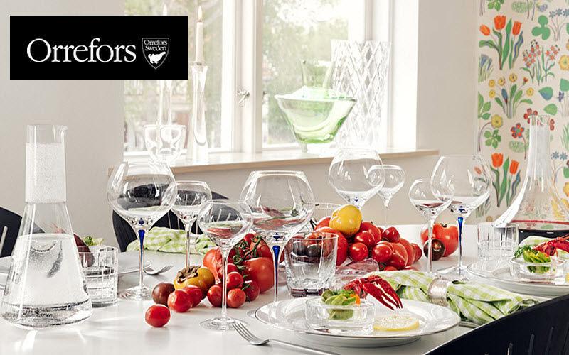 Orrefors Service de verres Services de verres Verrerie Salle à manger | Design Contemporain