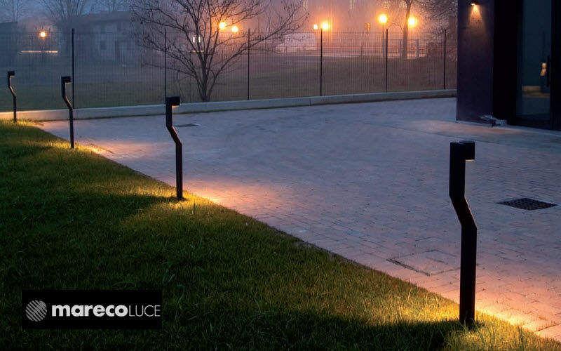 Mareco Luce Borne d'extérieur Luminaires de sol Luminaires Extérieur Espace urbain   Design Contemporain
