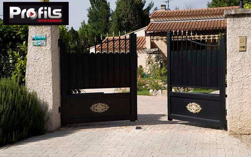 Profils Systemes Portail à vantaux Portails Jardin Abris Portails...  |