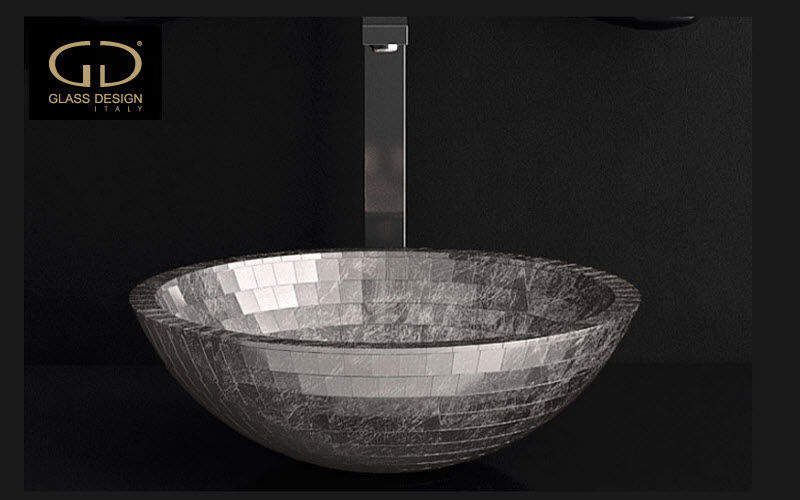 GLAss DESIGN Vasque à poser Vasques et lavabos Bain Sanitaires  |