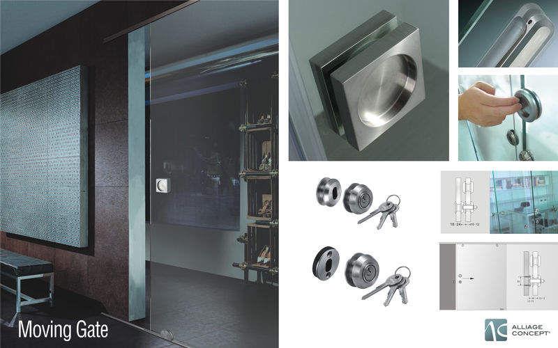 ALLIAGE CONCEPT Porte coulissante Portes Portes et Fenêtres Bureau | Design Contemporain