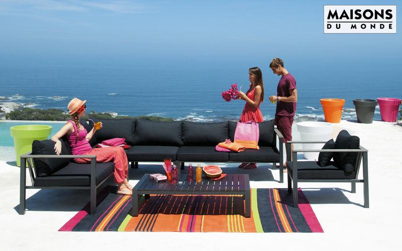 Maisons du monde Canapé de jardin Salons complets Jardin Mobilier Terrasse |