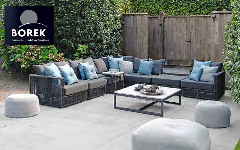 Borek Salon de jardin Salons complets Jardin Mobilier  |