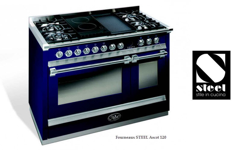 Steel Cucine Fourneau Cuisinières Cuisine Equipement  |