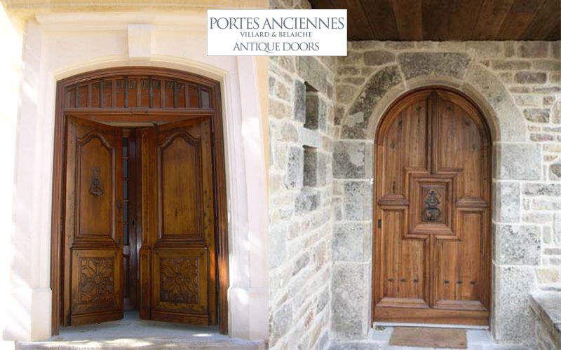 Repeindre porte d'entree maison bois