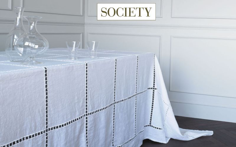 SOCIETY Nappe rectangulaire Nappes Linge de Table  |