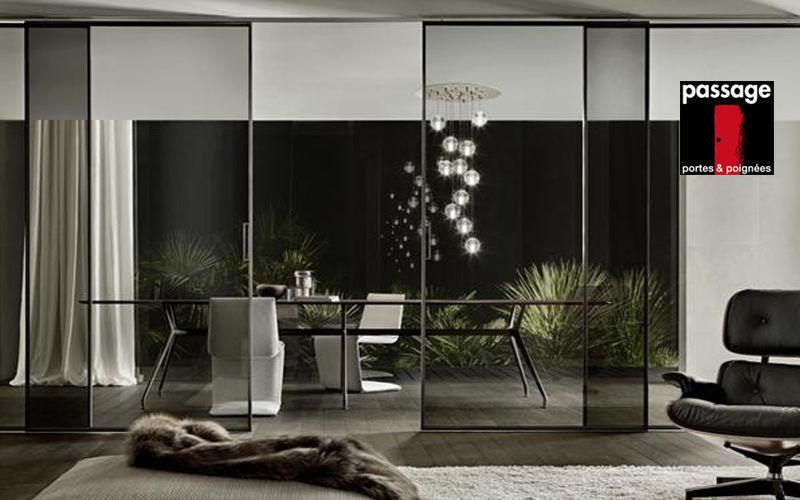 Passage Portes & Poignées Porte coulissante Portes Portes et Fenêtres Salle à manger | Design Contemporain