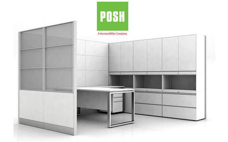 Posh Cloison de bureau Cloisons & Panneaux acoustiques Murs & Plafonds  |