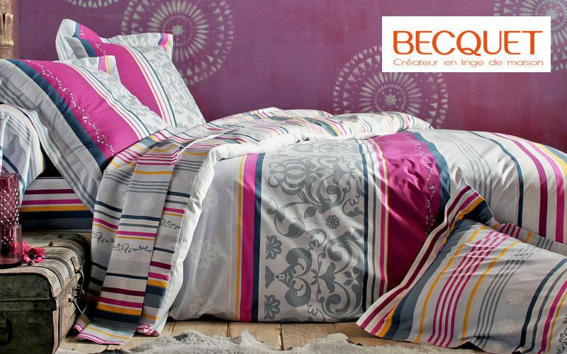 Becquet Parure de lit Parures de lit Linge de Maison  |