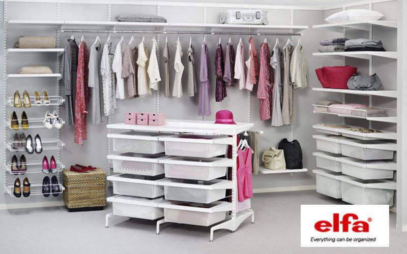 Elfa Rangement suspendu Penderies Rangement Dressing  |