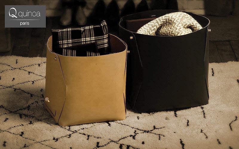 QUINOA PARIS Corbeille de rangement Boites et caisses Rangement Dressing  |
