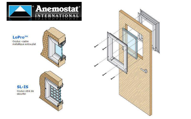 ANEMOSTAT Oculus de porte Fenêtres Portes et Fenêtres  |