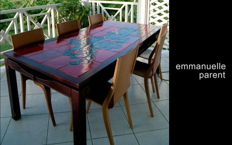 Emmanuelle Parent Plateau de table Tables de repas Tables & divers  |