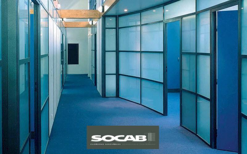 SOCAB Cloison amovible Cloisons & Panneaux acoustiques Murs & Plafonds  |