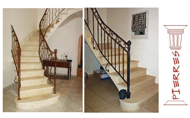 PIERRES Escalier deux quarts tournant Escaliers Echelles Equipement  |