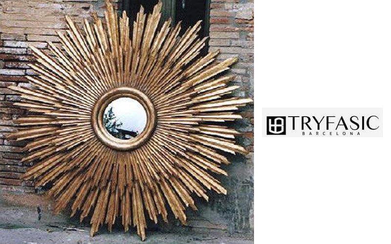 TRYFASIC Miroir soleil Miroirs Objets décoratifs  |