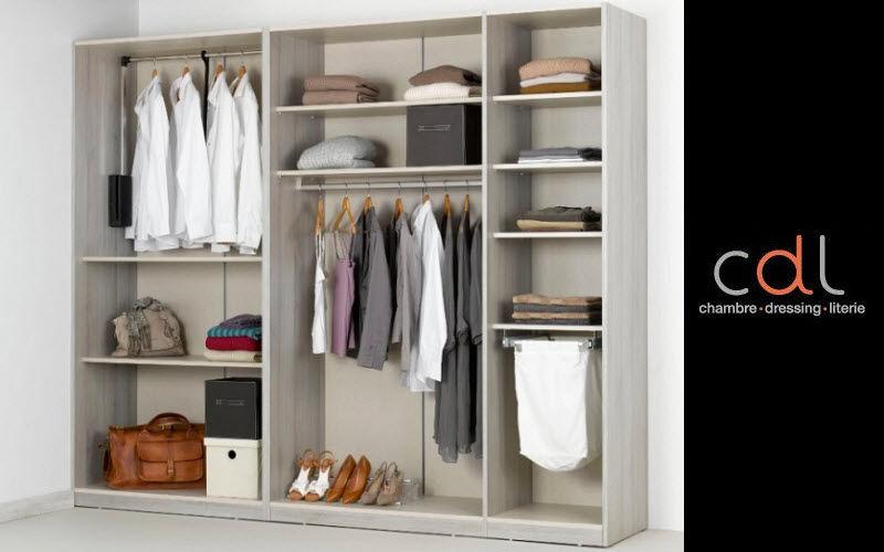 CDL Chambre-dressing-literie.com Dressing droit Dressings Rangement Dressing   