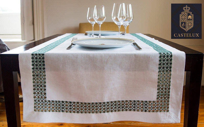 CASTELUX Chemin de table Nappes Linge de Table  |