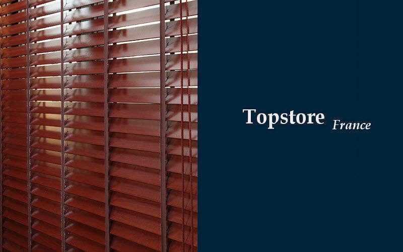 TOPSTORE Store vénitien Stores Tissus Rideaux Passementerie  |