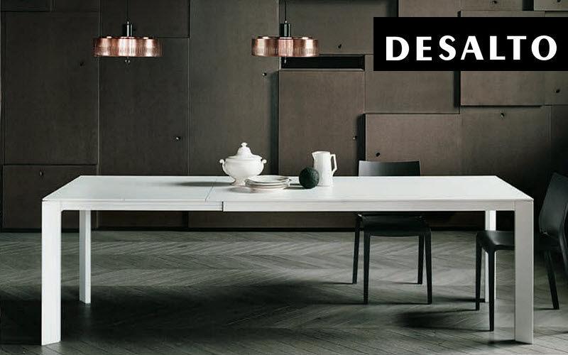 DESALTO Table de repas rectangulaire Tables de repas Tables & divers Salle à manger |