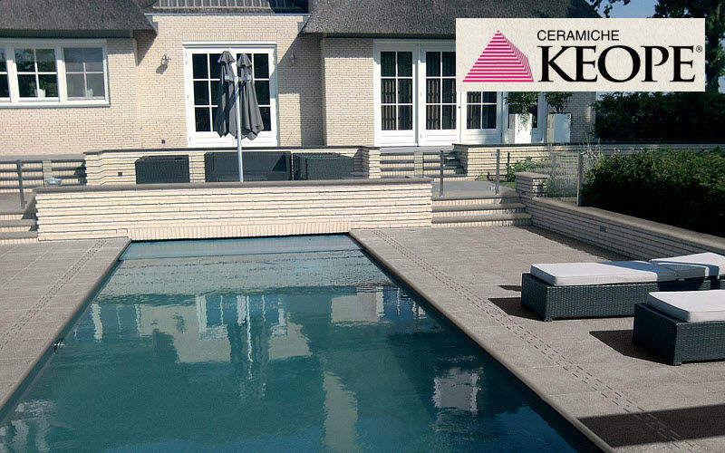 Keope Plage de piscine Margelles et plages Piscine et Spa Jardin-Piscine | Design Contemporain