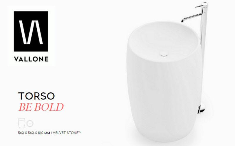 VALLONE® Lavabo sur piétement Vasques et lavabos Bain Sanitaires  |