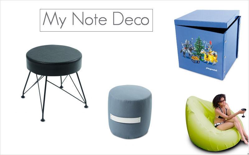 MY NOTE DECO Pouf d'extérieur Divers mobilier de jardin Jardin Mobilier  |
