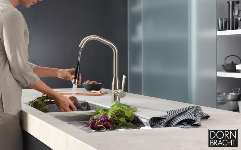 Dornbracht Mitigeur évier avec douchette Robinetterie de cuisine Cuisine Equipement  |