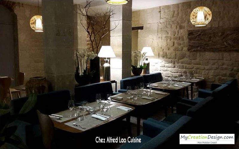 MyCreationDesign Agencement d'architecte Bars Restaurants Réalisations d'architecte d'intérieur Maisons individuelles  |