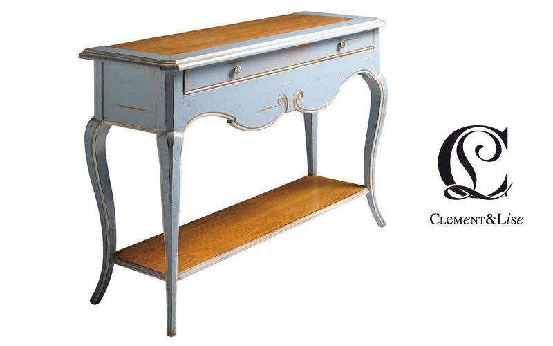 CLEMENT ET LISE Console à tiroir Consoles Tables & divers  |