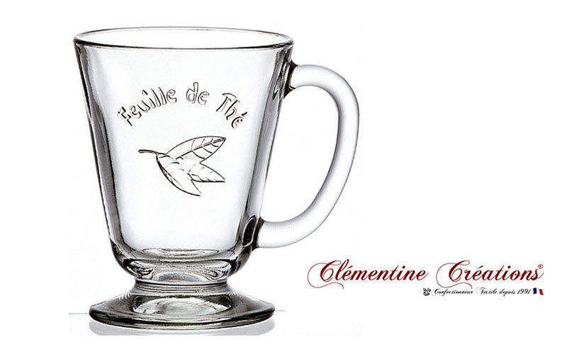 Clementine Creations Tasse à thé Tasses Vaisselle  |