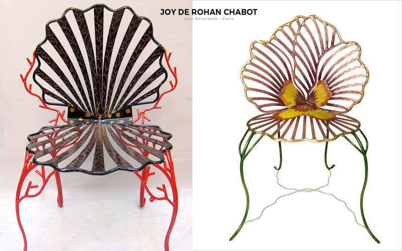 JOY DE ROHAN CHABOT Chaise de jardin Chaises de jardin Jardin Mobilier  |